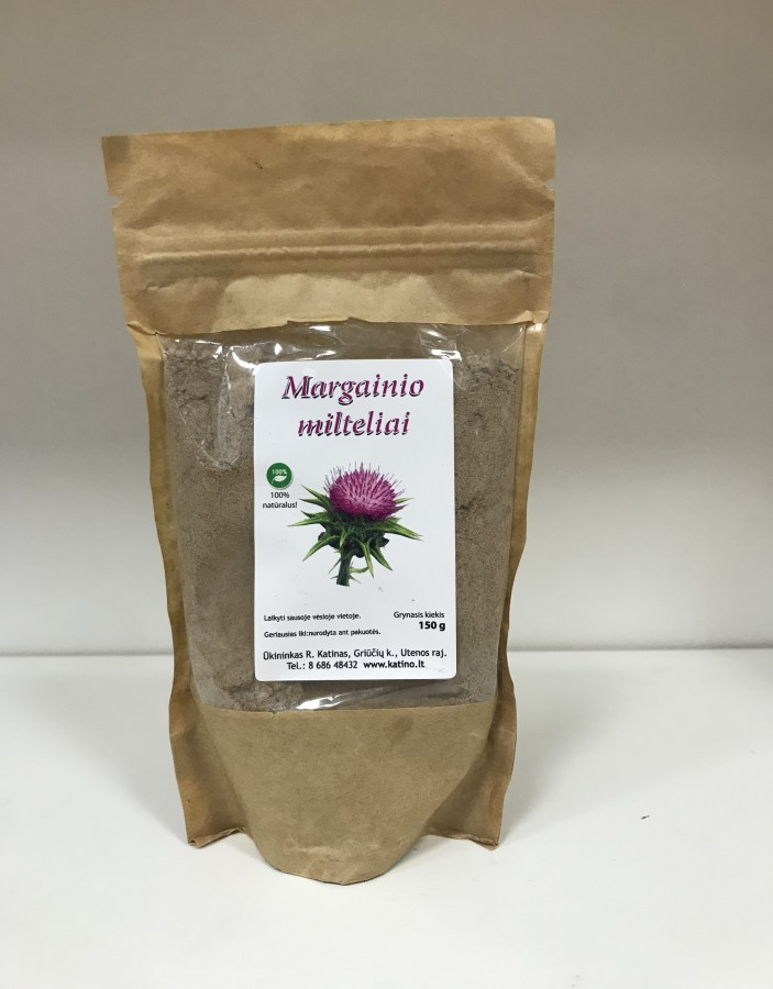 Margainio sėklų milteliai, 150g